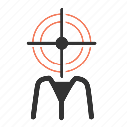 agile, customer target, employee, hr, human, human resource, user icon