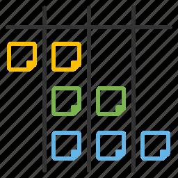 agile, itteration, plan, reminder, scrum, scrum board, sprint icon