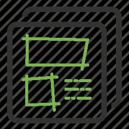 agile, demo, idea, mockup, sketch, ui prototyping, wireframe icon