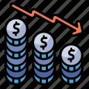 economic, downturn, business, financial, finance, decrease, loss