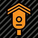 bird, birdhouse, farm, house icon