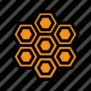 bee, farming, hive, honey