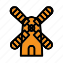 energy, farming, mill, windmill icon