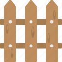barrier, fence, garden fence, outdoor border, plant protection icon