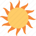 planet, sun, sunny, sunshine, warm weather icon