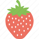 agriculture, food, fruit, healthy diet, strawberry icon