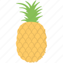 ananas, fruit, healthy diet, organic food, pi, pineapple icon