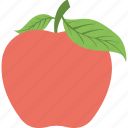 agriculture, apple, fruit, healthy diet, organic food icon