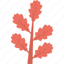 decorative plant, generic plant, generic twig, red colored twig, red foliage icon