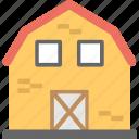 agriculture, agriculture building, barn, barn building, farmhouse icon