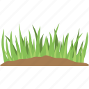 agriculture, crops, grass field, grassland, greenery icon