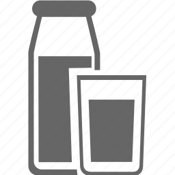 bottle, drink, food, meal, milk icon