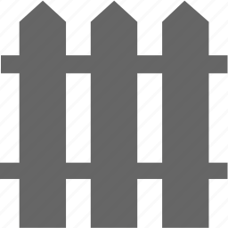 fence, garden, gardening, picket, wall icon