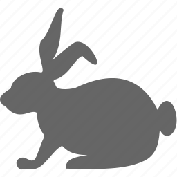 animal, farm, pet, rabbit icon