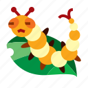 pest, insect, farm, worm icon