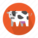 agriculture, cow, farm, milk icon