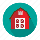 agriculture, barn, farm icon