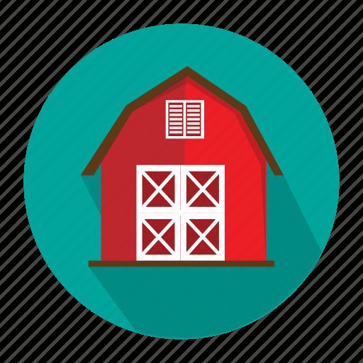 agriculture, barn, farm icon