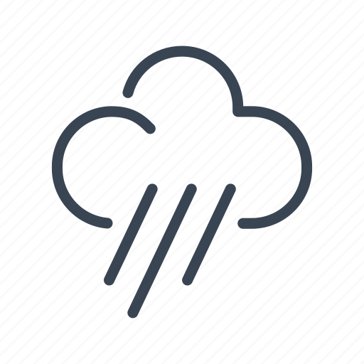 Rain, rainy, day, cloud, weather icon - Download on Iconfinder