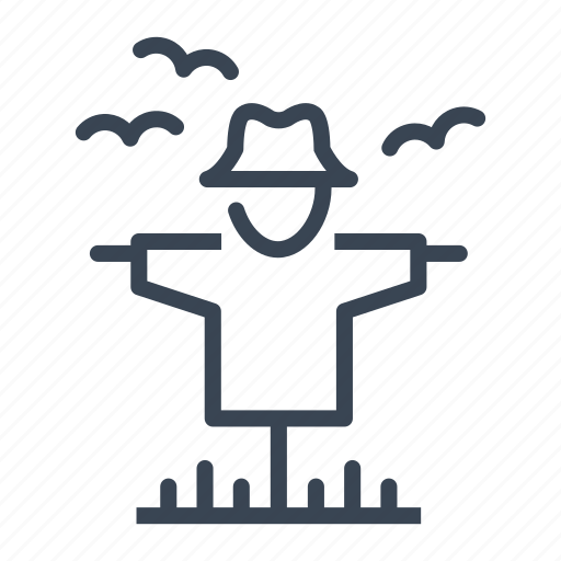 Scarecrow, agriculture, farm, garden icon - Download on Iconfinder