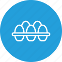 egg, food, hen, nonveg, rack, tray icon