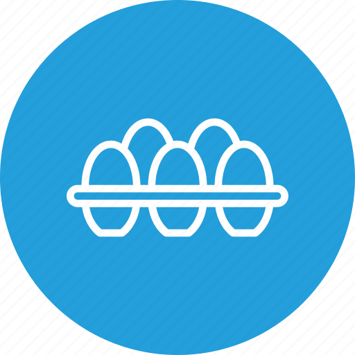 egg, food, hen, nonveg, rack, tray icon