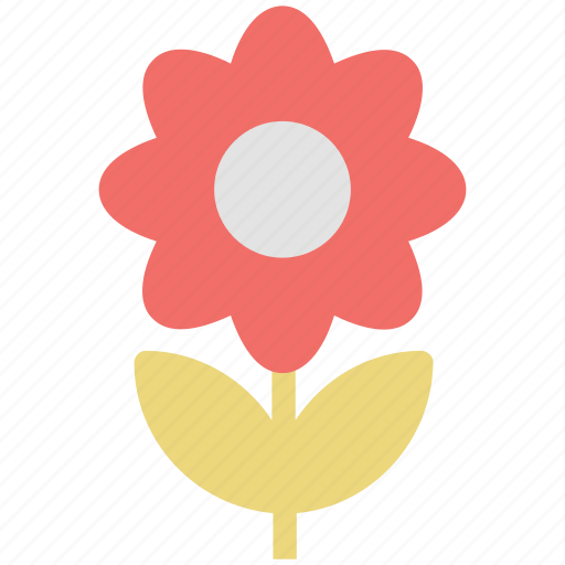 daisy, eco, ecology, flower, flower with stem, nature icon