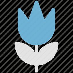 blossom, floral, flower, nature, tulip, tulip bud icon