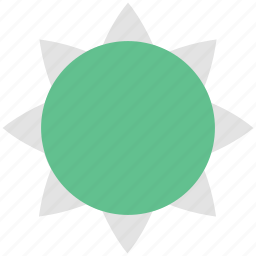 climate, high temperature, hot weather, sun, sunny day icon