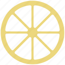 caravan, cartwheel, spoke, wagon wheel, wheel icon