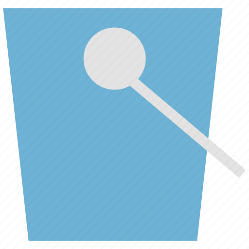 bucket, container, gardening, housework, pail, pot, water icon