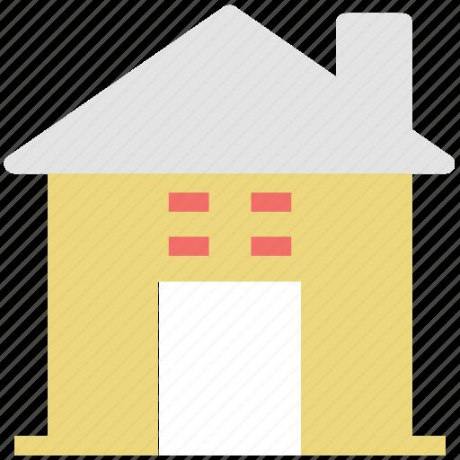 building, farm house, home, house, hut, village icon