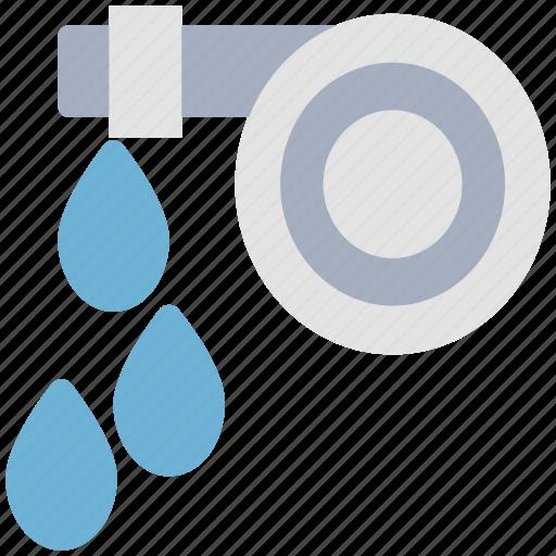 garden hose, gardening, hose pipe, sprinkler, water pipe, watering icon
