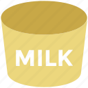 tin, canned milk, milk, milk pack, dairy product