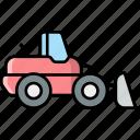 loader, vehicle, truck