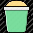 bucket, fill, storage