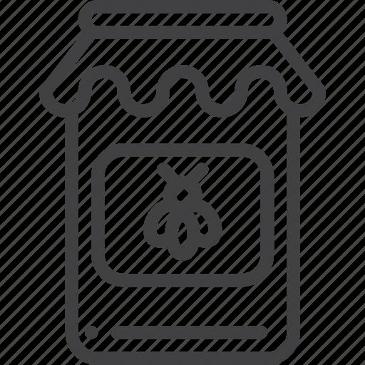glass, honey, jar icon