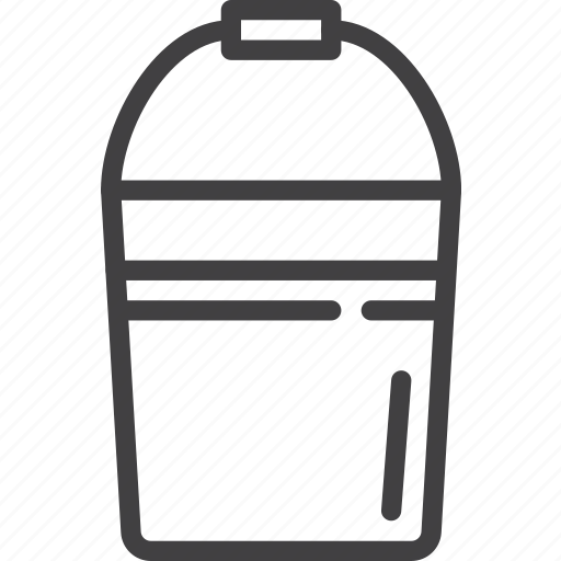 Bucketful, bucket, pail icon