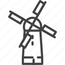 flour, mill, windmill icon