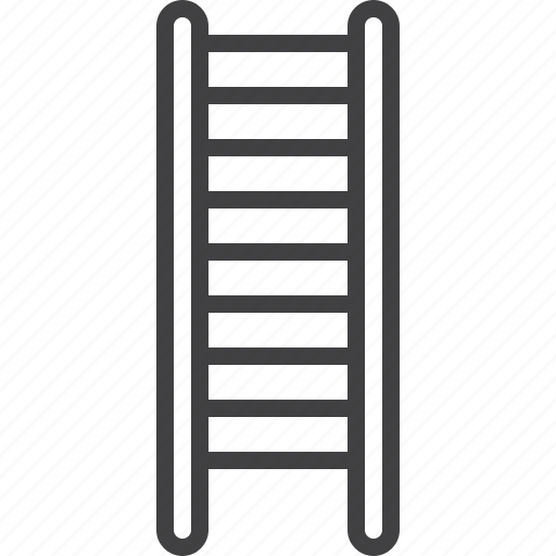 ladder, stair, staircase icon