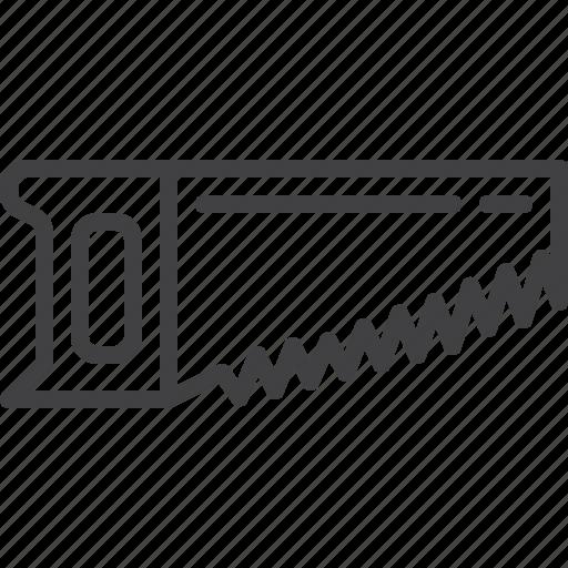 handsaw, saw, sawmill icon