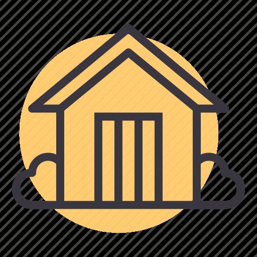 agriculture, barn, building, farm, garden, house, storage icon