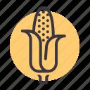 american, corn, crop, diet, grain, maize, sweet icon
