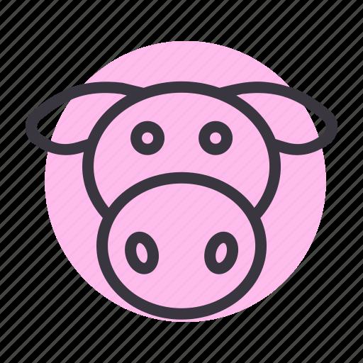cow, dairy, farm, farming, livestock, meat, milk icon