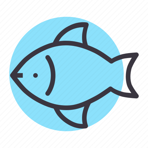 eat, fish, food, marine, meal, pisces, sea icon