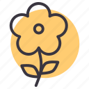 floral, flower, garden, leaf, plant, spring, sunflower icon