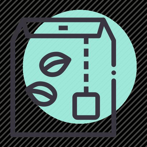 Bag, dip, drink, green, organic, tea icon - Download on Iconfinder
