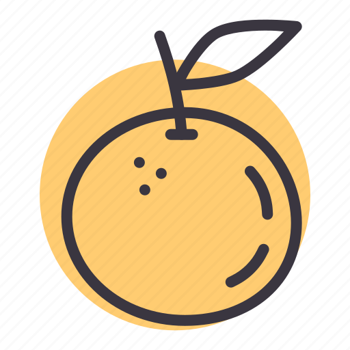 citrus, food, fruit, juicy, orange, tropical icon