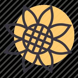 bloom, blossom, flower, garden, gardening, spring, sunflower icon