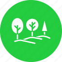 arboriculture, ecology, environment, landscape, nature, scenery, trees icon